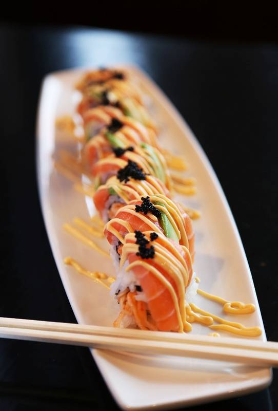 Yumi sushi lives up to its name in mundelein for Fish eggs on sushi