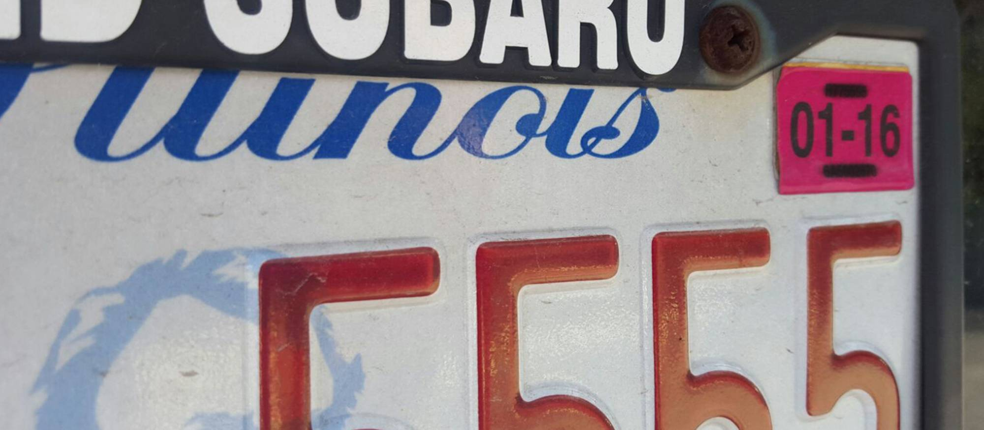 Fines could end for late license plate renewals