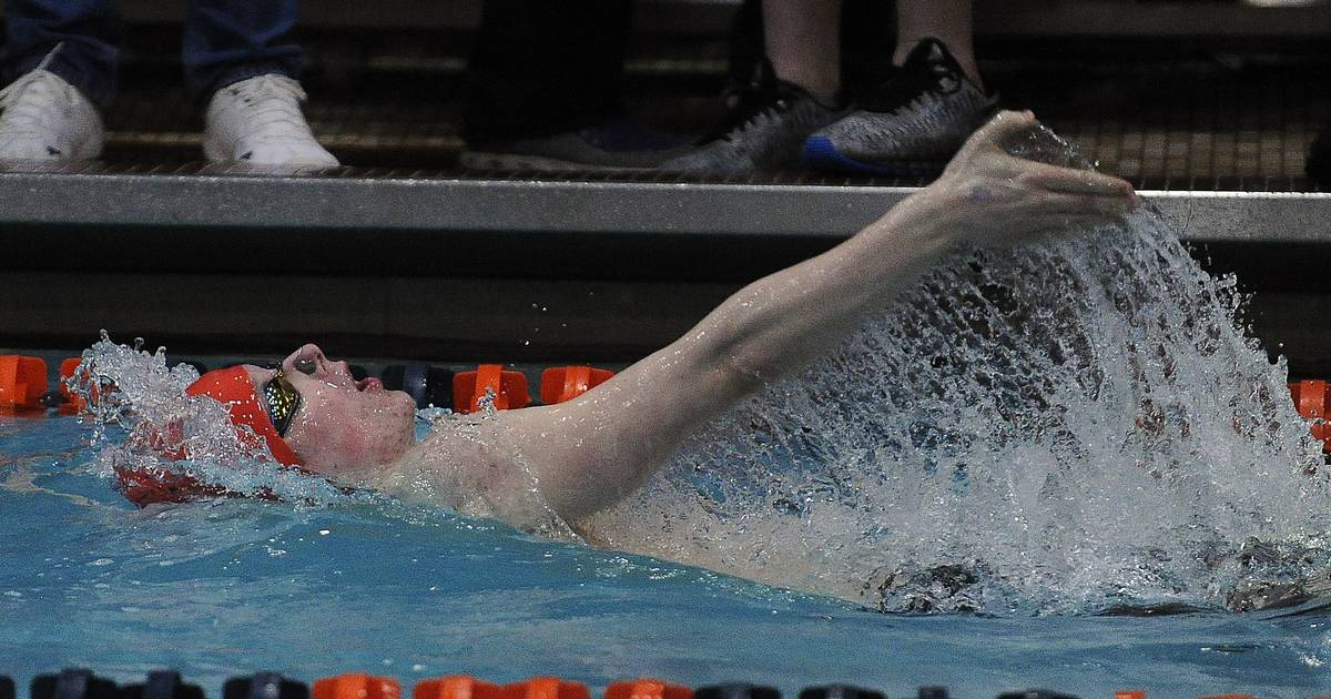 Images Prelims Of Boys Swimming Diving State Meet