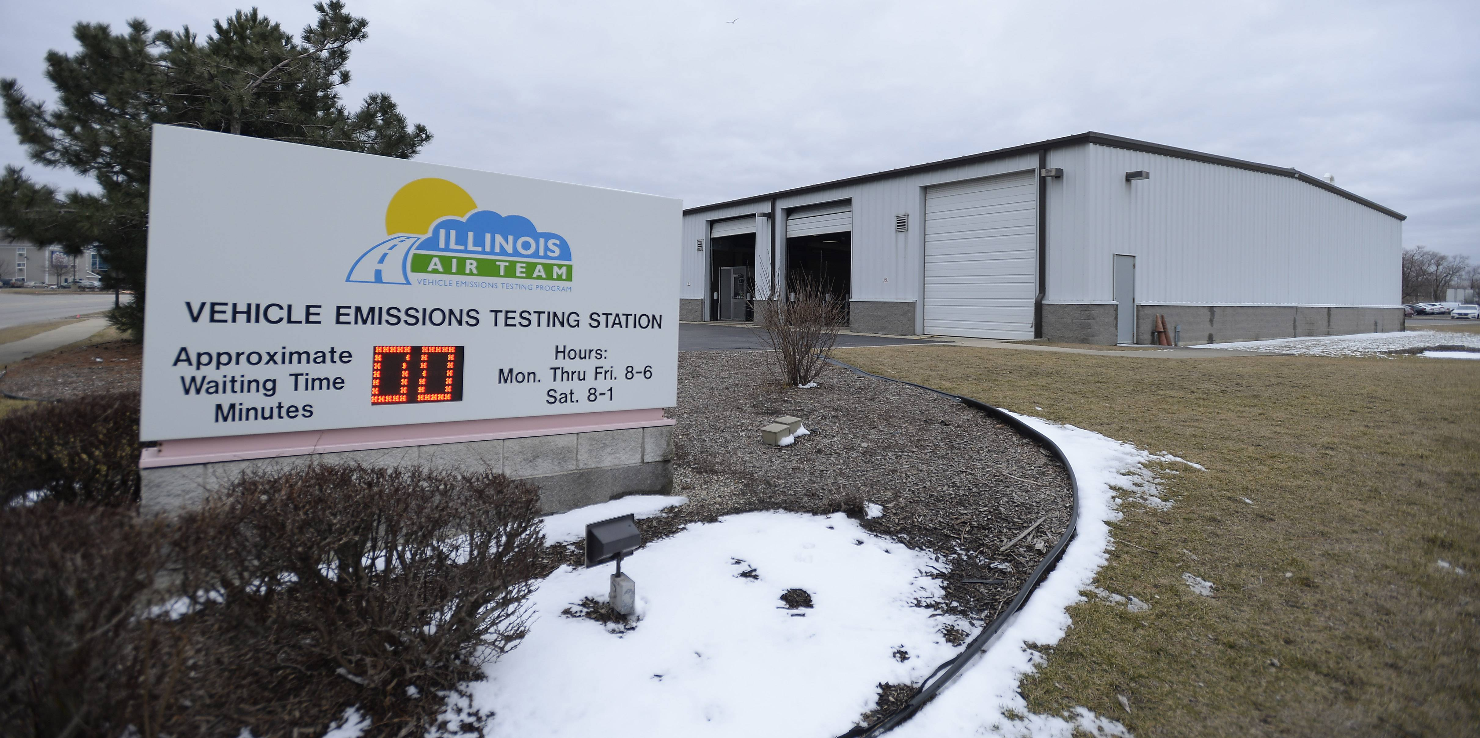 There was no wait at the Illinois Environmental Protection Agency's emissions test facility in Elk Grove Village Thursday. Drivers no longer get reminders that they're due to be tested, and that has EPA officials worried about the air quality in the Chicago area.