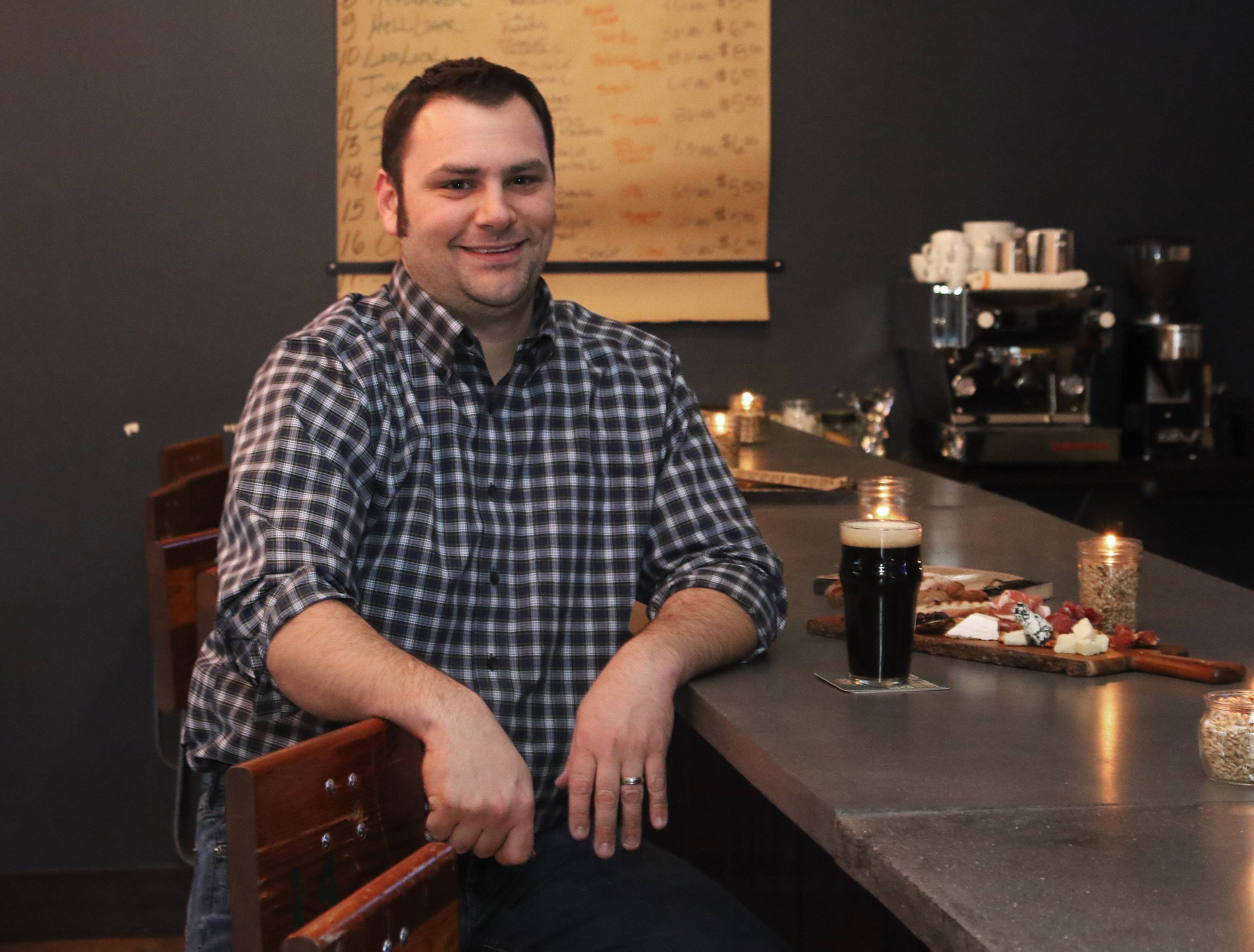 Phil Castello opened Side Lot Brewery in Wauconda with partners Jason Vucic and Brittany Barth.