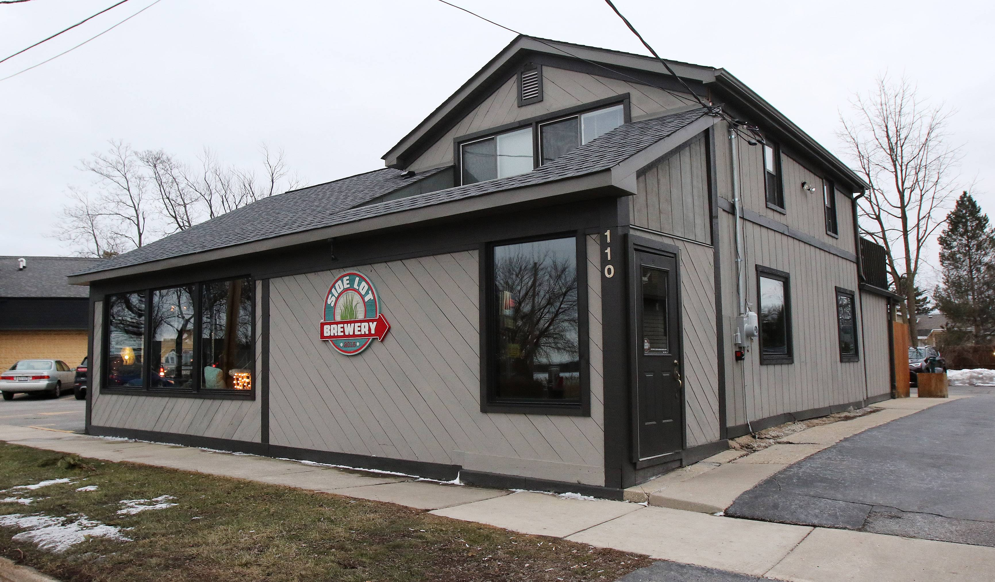 Side Lot Brewery in Wauconda serves craft beer, cocktails and small plate menu options.