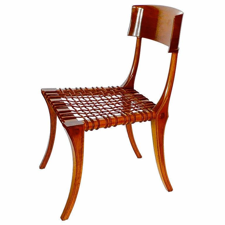 Klismos Chairs Are As Chic Today In