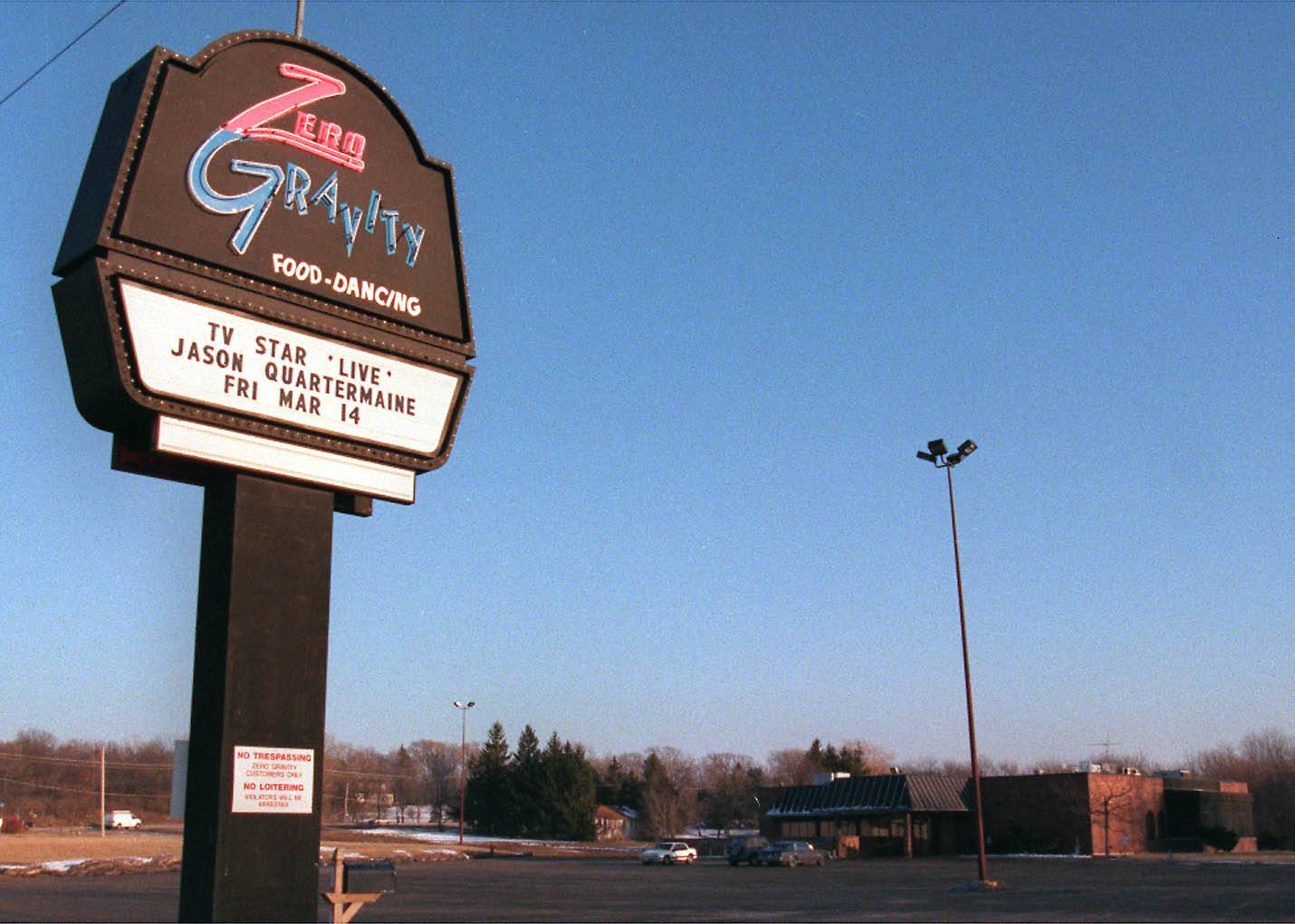 Zero Gravity in Naperville to close; a new club to open?