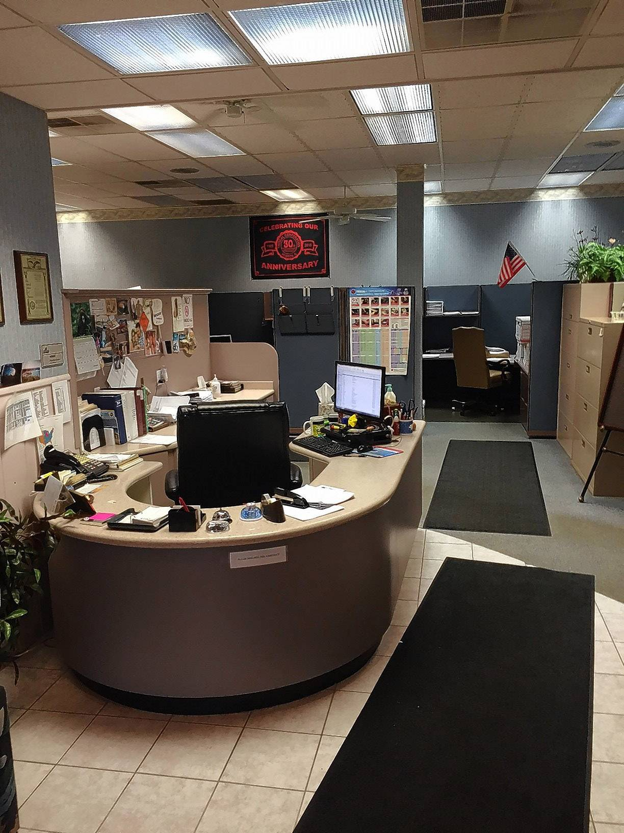 The Triseal offices in Hebron were transformed from a former photo processing lab about 28 years ago.