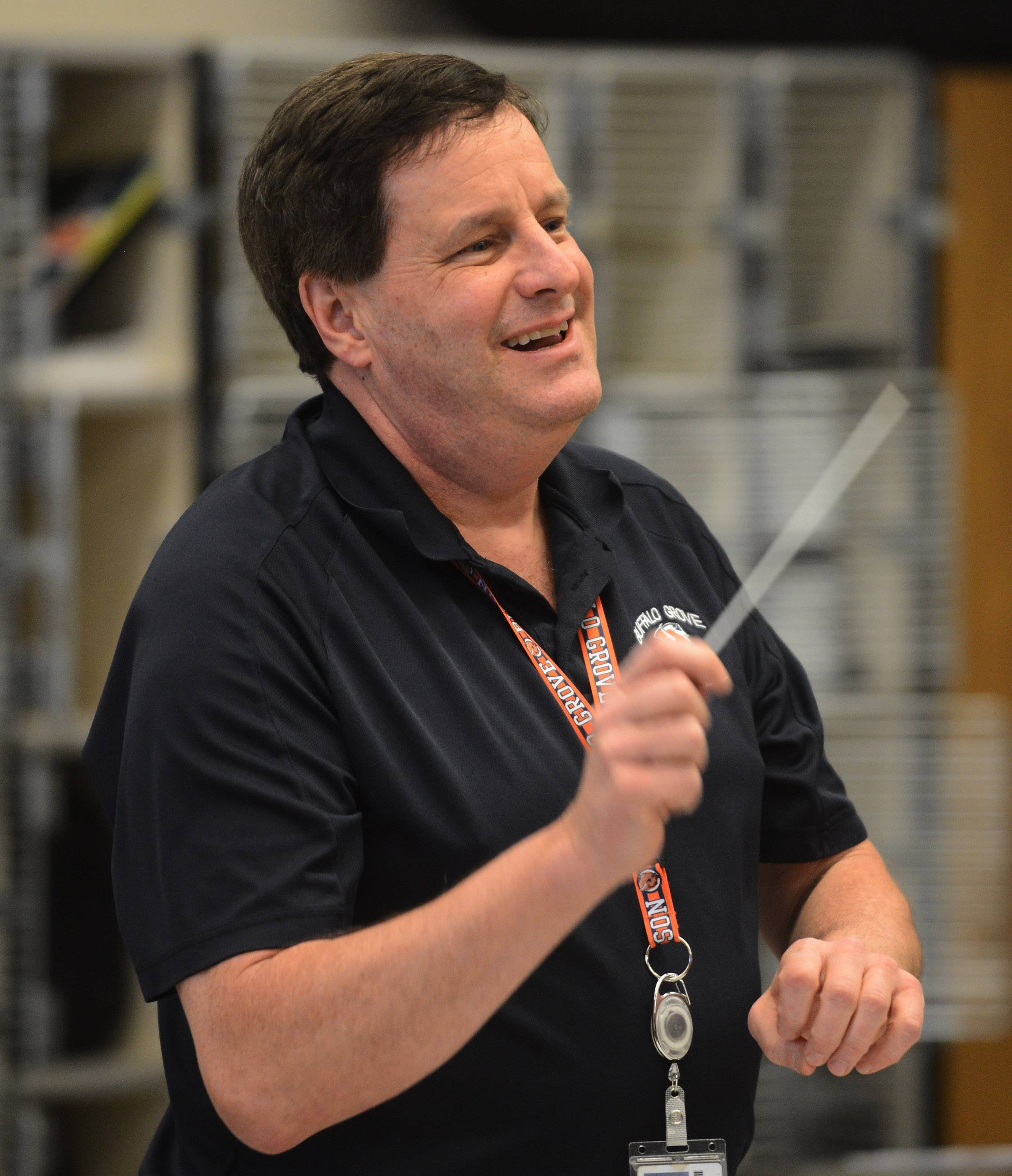 Buffalo Grove High School band teacher Ed Jacobi, who has taught for 37 years, is retiring at the end of the school year.