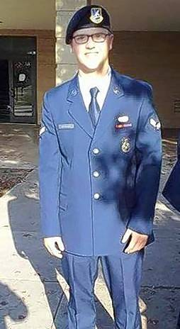U.S. Airman First Class Alex Newman of Hainesville is the Round Lake Area Exchange Club's Hometown Hero for March.