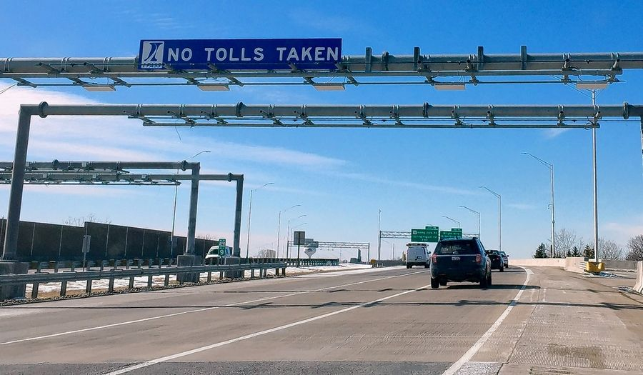 No tolls being taken yet, but starting in July, expect to pay to travel on the Elgin-O'Hare Expressway between Lake Street and I-290.