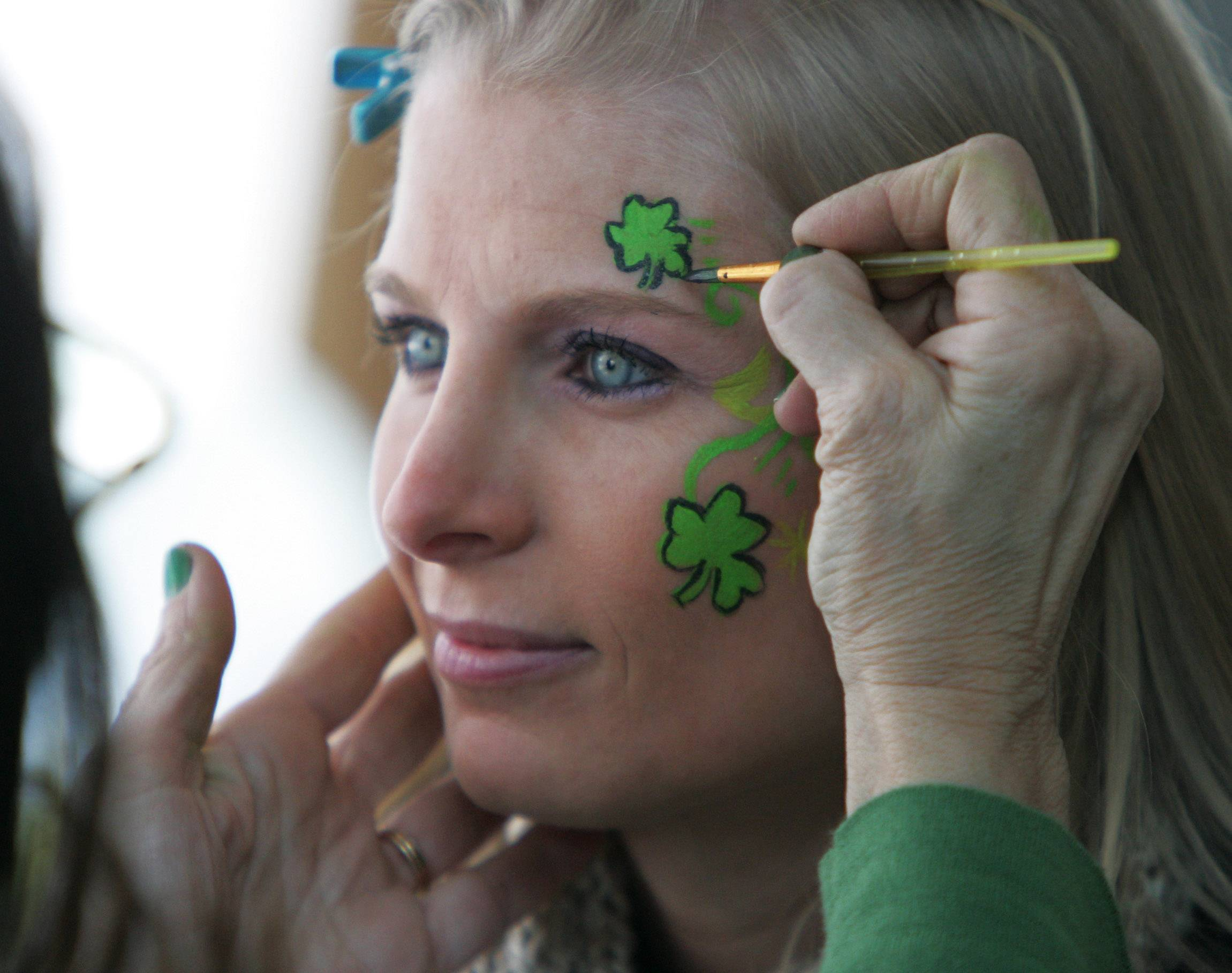 Vicky Molino of Barrington got into the Irish spirit during the 2013 Barrington Celtic Fest. The three-day festival returns this week with live music and entertainment, Irish cuisine and more in the village's downtown.