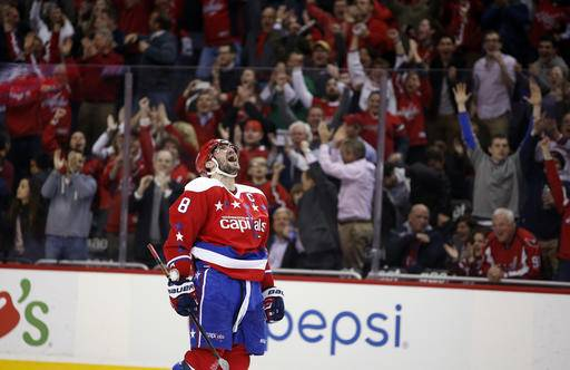 Ovechkin scores as Capitals clinch playoff berth 24eebe6f774
