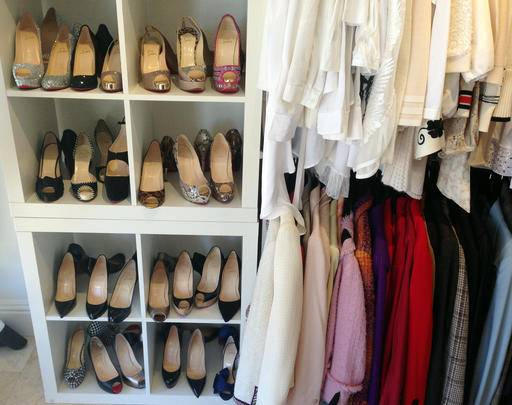 In This Feb. 22, 2016 Photo, A Display Of Shoes, Shirts And