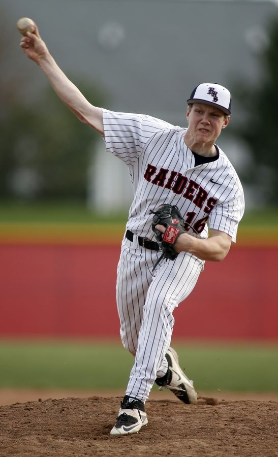 Huntley's Jeff Heinrich returns to the hill for the Red Raiders this season.