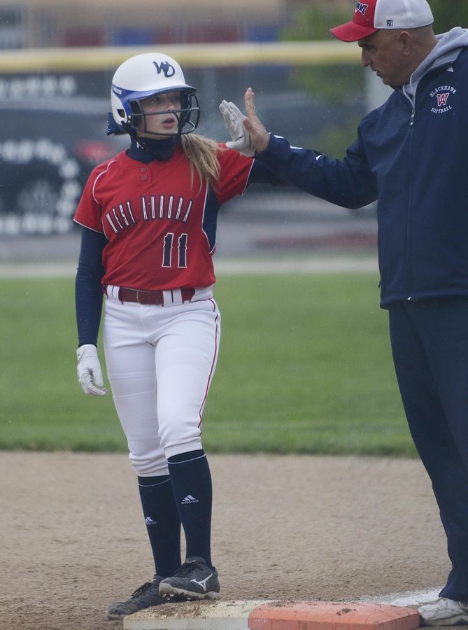 West Aurora returns Hannah Beatus.