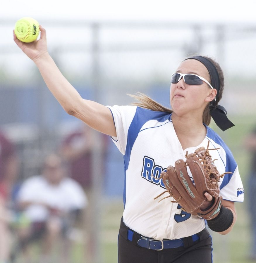Kristina Ahlers will return to the infield for Burlington Central this season.