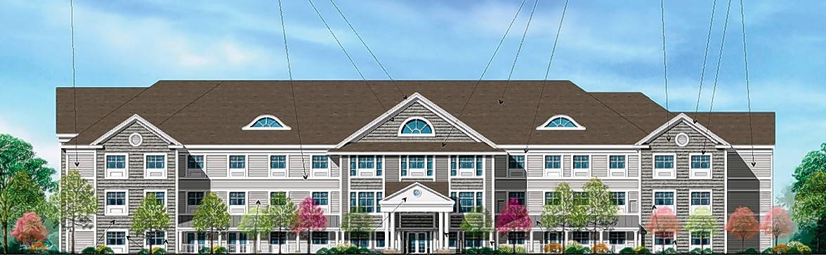 A four-story building with 76 assisted living apartments and 24 memory care units for people with Alzheimer's disease or dementia is expected to be under construction within the next three months at 75th Street and Route 53 in Woodridge.