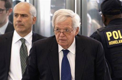 Alleged sex abuse victim may testify at Hastert sentencing