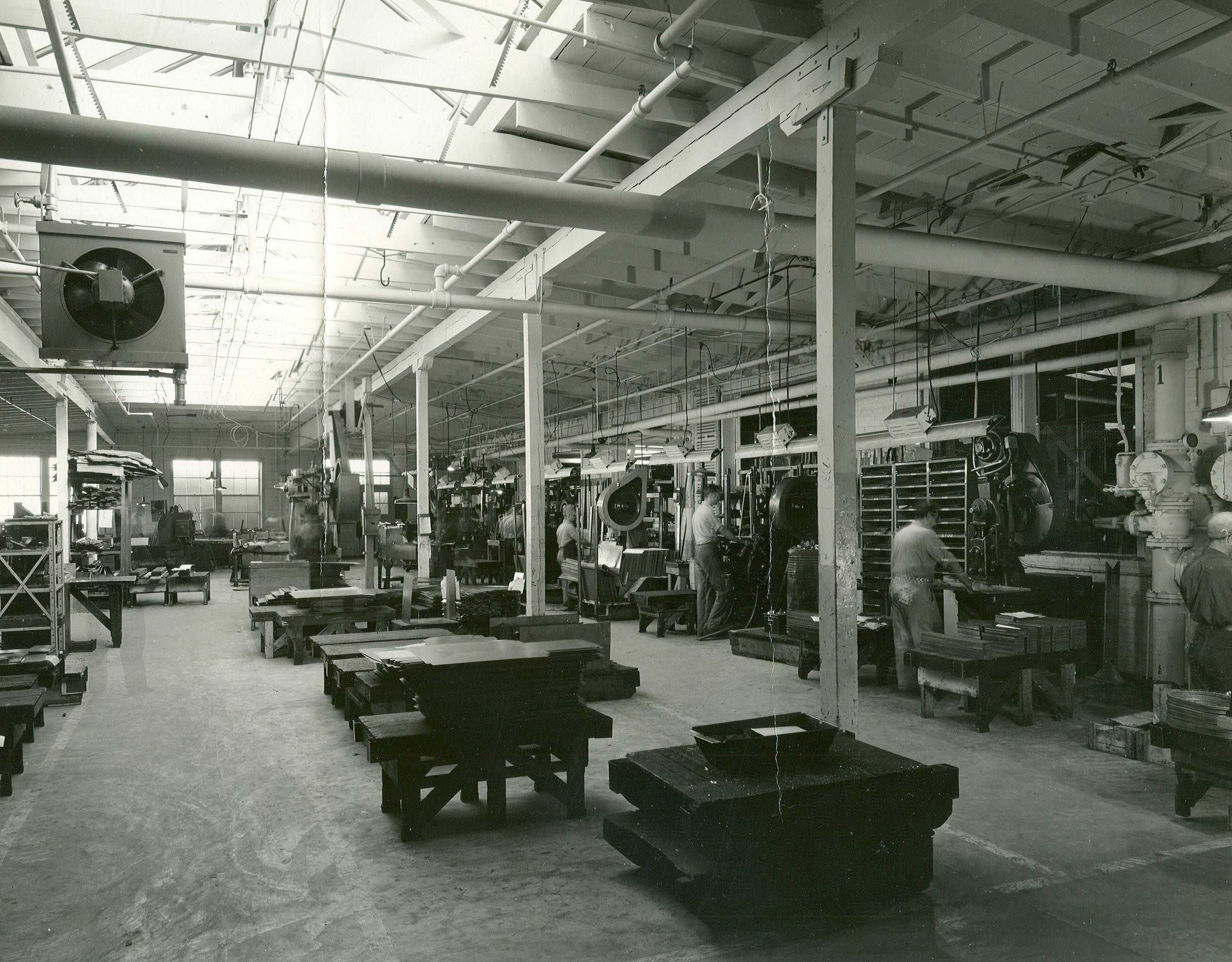 Beautiful St. Charles Manufacturing Company Warehouse. Organized In 1935, The St.  Charles Manufacturing