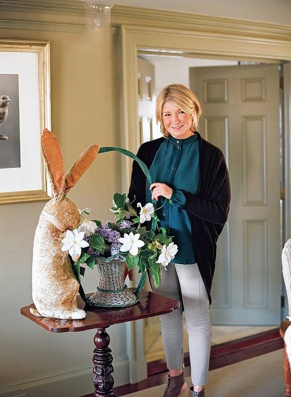 Martha stewart on easter paper napkins and serving takeout