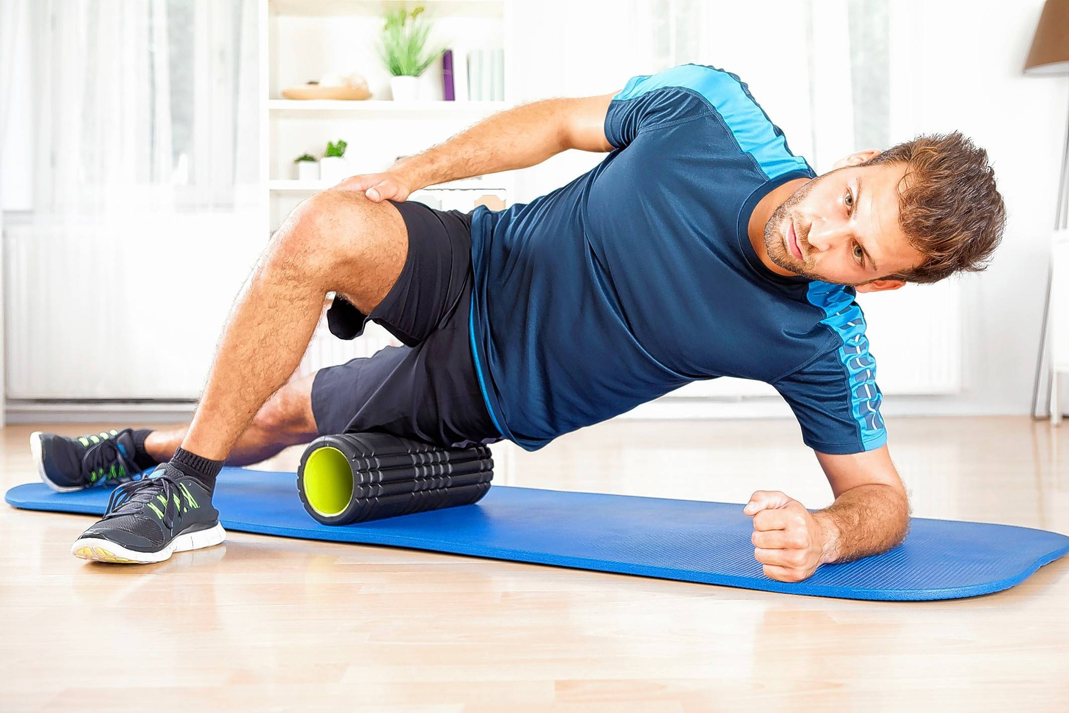Couch to 5K Week 6 tip: The foam roller is a runner's best friend