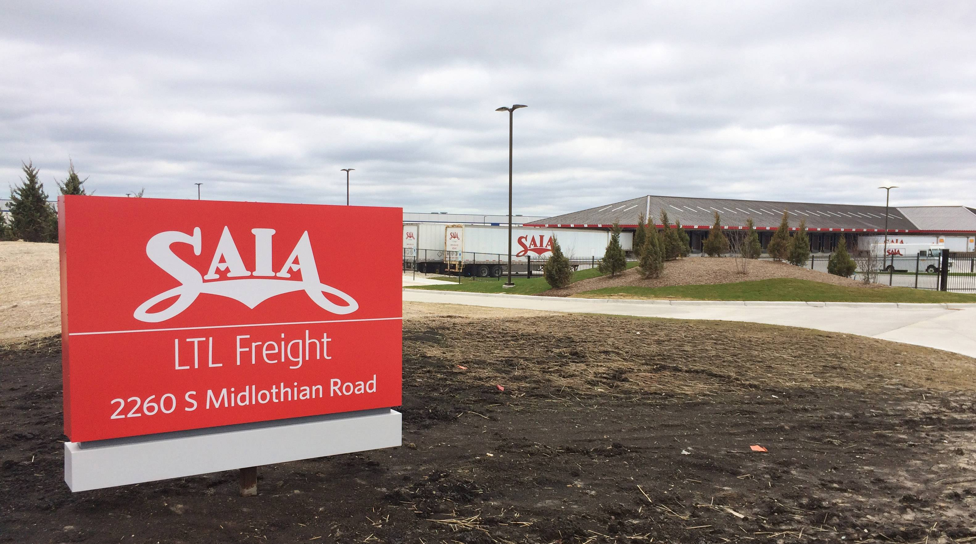 Saia truck terminal in Grayslake open for business despite legal challenge