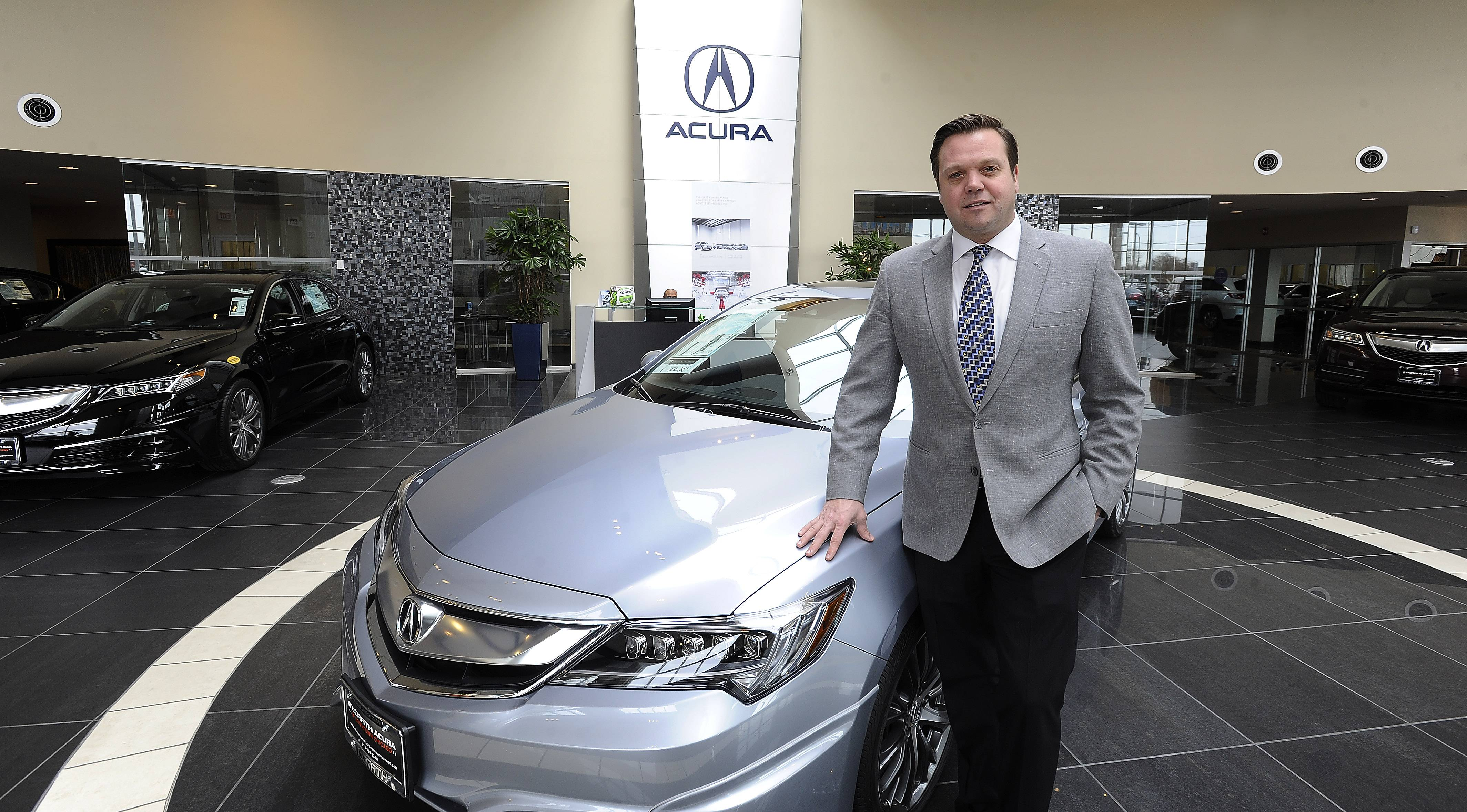 Kevin McGrath of McGrath Acura of Downtown Chicago began selling cars for his father, Mike McGrath Sr., at the age of 17. in recent years, he spearheaded efforts to open an Acura dealership in Chicago.