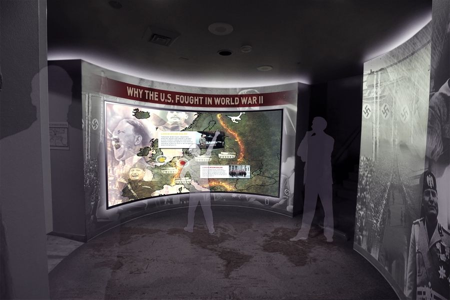 The popular theatrical sections of the existing exhibit at the First Division Museum will remain through the $7 million redesign project announced Thursday, but new technology will be introduced to give visitors a better understanding of what First Division soldiers have gone through, and why.