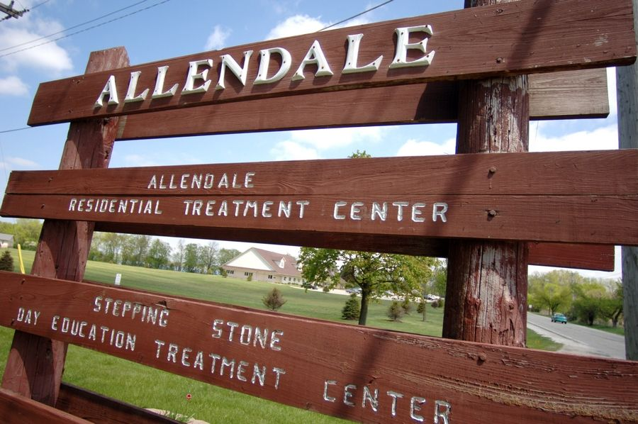 This is the Allendale Association campus off Grand Avenue in Lake Villa.