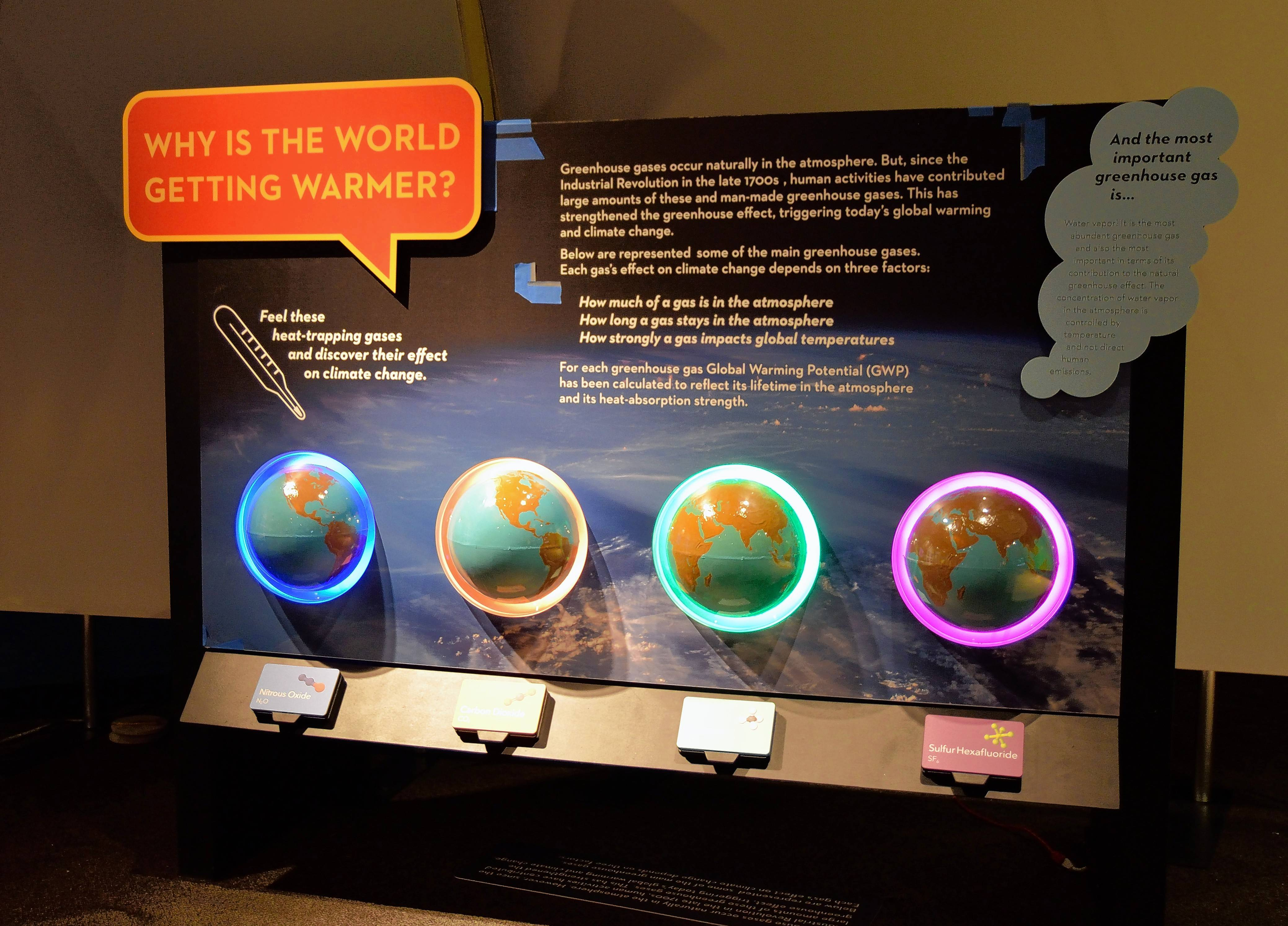 """Weather to Climate: Our Changing World"" at the Peggy Notebaert Nature Museum helps educate visitors on the implications of climate change."