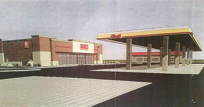 There are plans to demolish the current Shell gas station on the southwest corner of Geneva Road and Main Street in Wheaton and construct a new Circle K that will include a 4,300 square foot convenience store, 10 fueling stations, a car wash and 32 parking spaces.