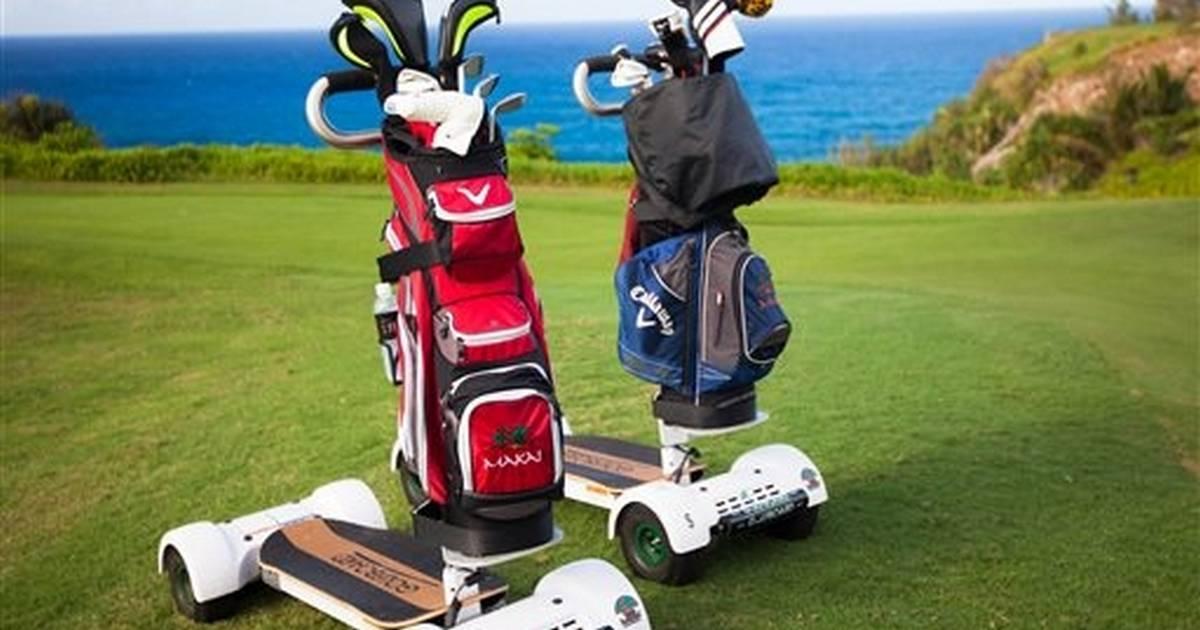 Fun and fulfilling alternatives to golf carts Laird Hamilton Golf Cart on michael jordan golf cart, adam sandler golf cart, tiger woods golf cart, peyton manning golf cart, surfing golf cart, jeff gordon golf cart,