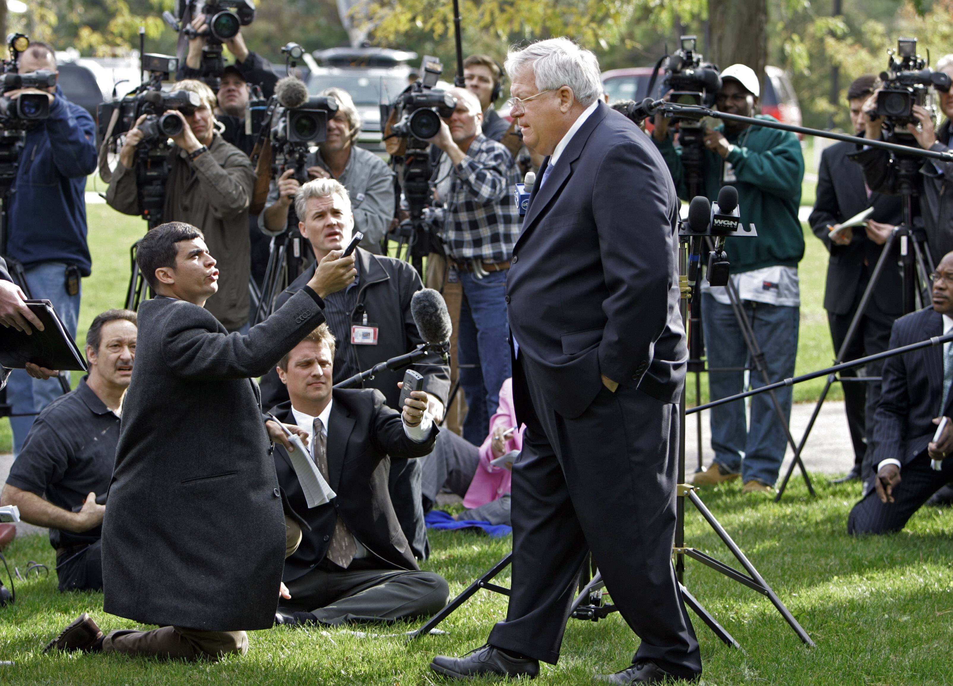 Hastert kept his secrets while decrying molesters