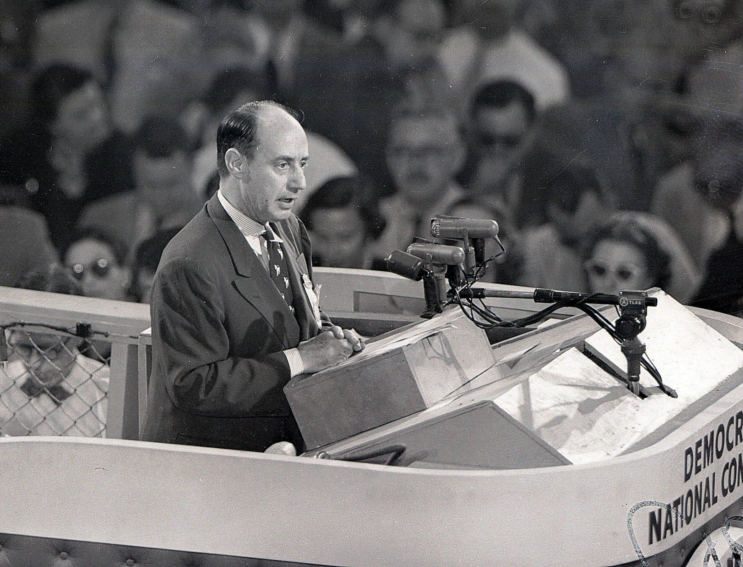 Contested convention? It worked for Adlai Stevenson in '52