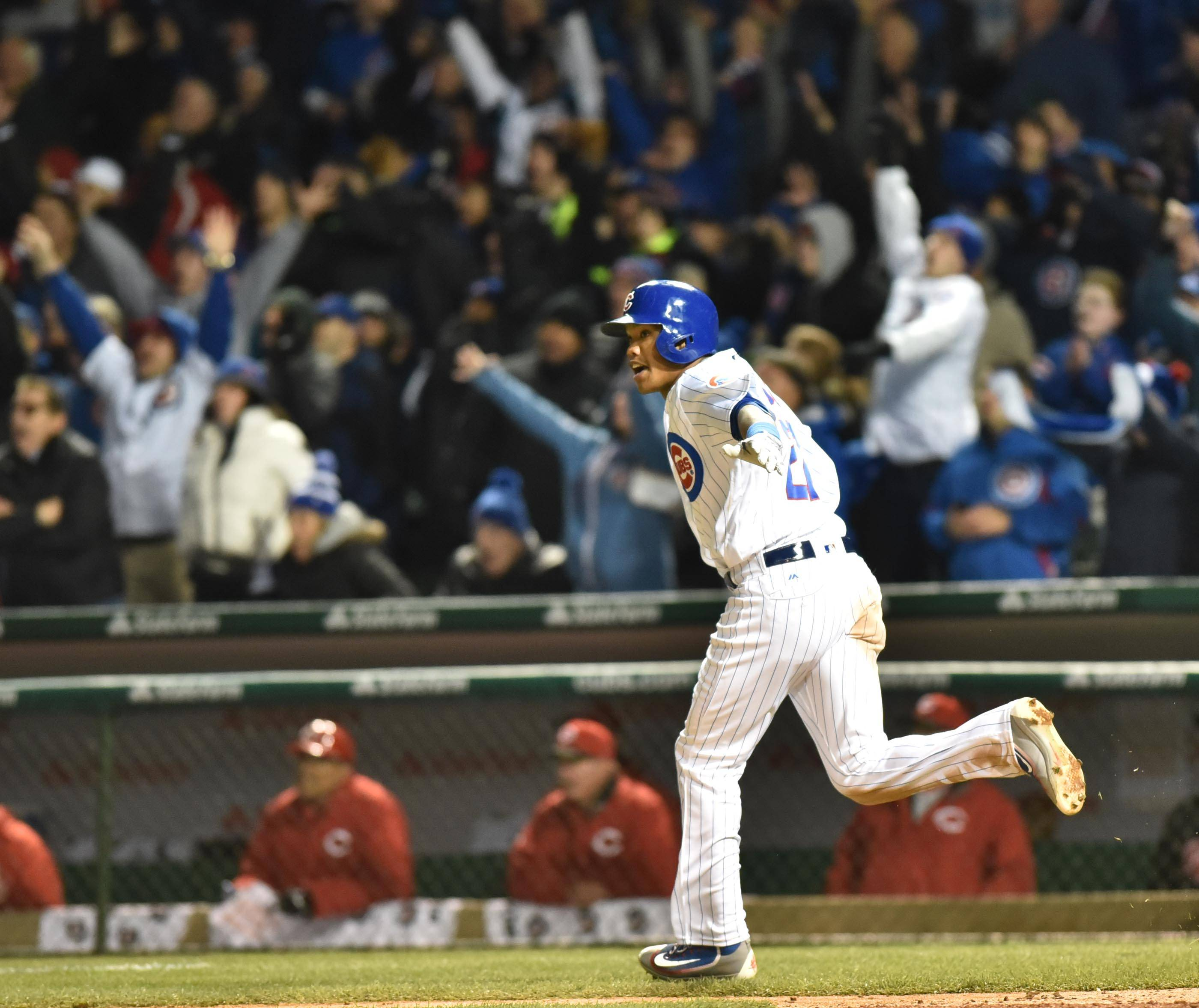 'Absolute insanity' as Cubs win Wrigley opener