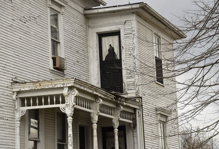 Hoffman Estates village officials will consider two proposals to save the 116-year-old Bergman house from demolition.
