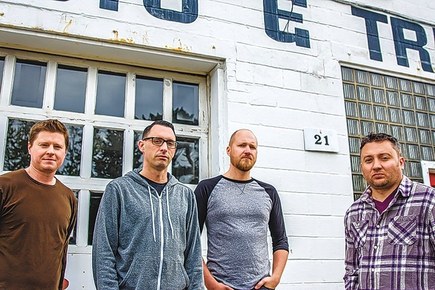 The Bigger Empty, the new rock project led by Smoking Popes drummer Mike Felumlee, plays Brauerhouse in Lombard Saturday, April 16.