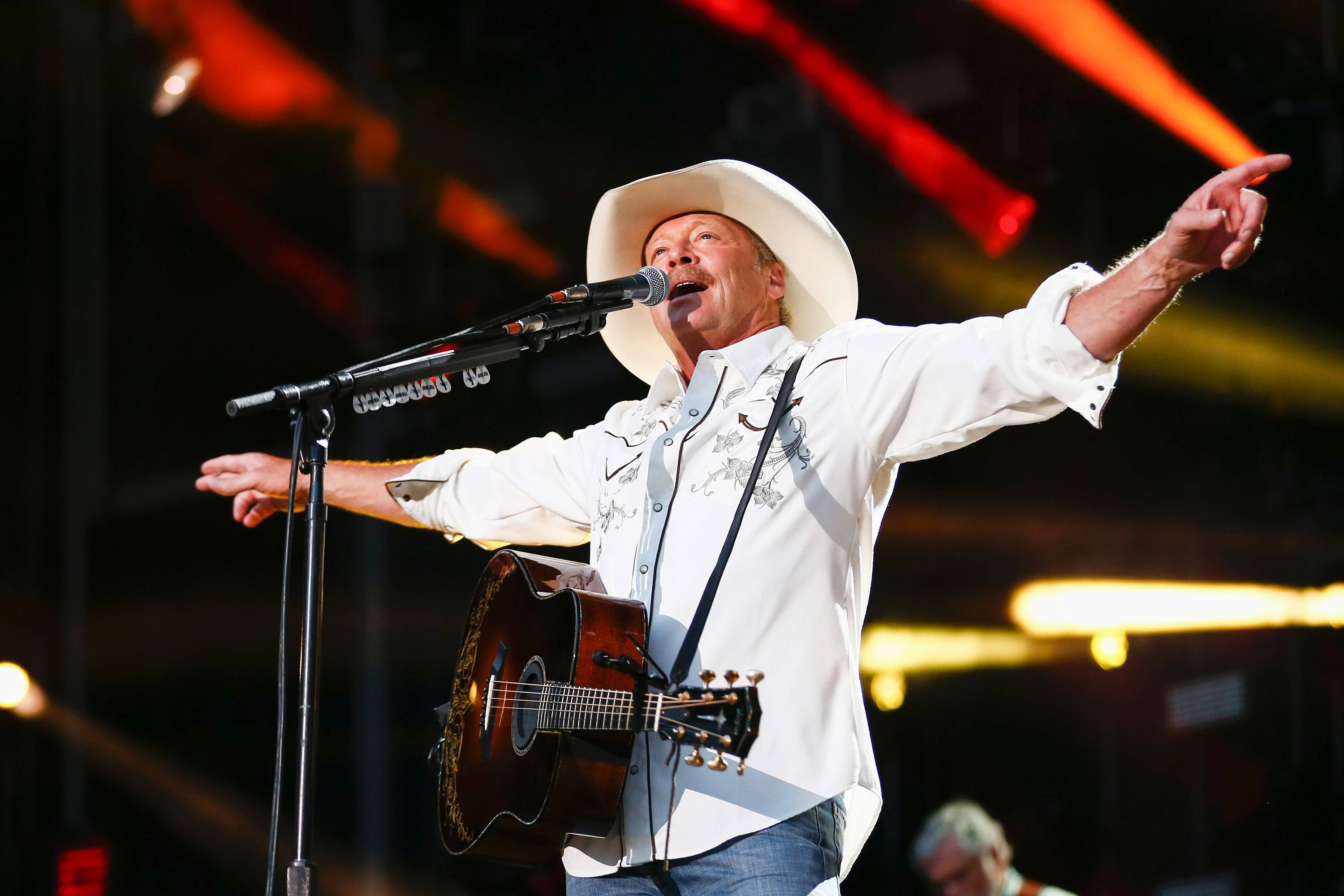 Alan Jackson will perform Aug. 6 at RiverEdge Park in Aurora.