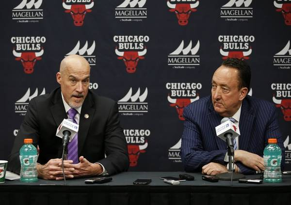 2a7307060 Chicago Bulls executive vice president of basketball operations John Paxson