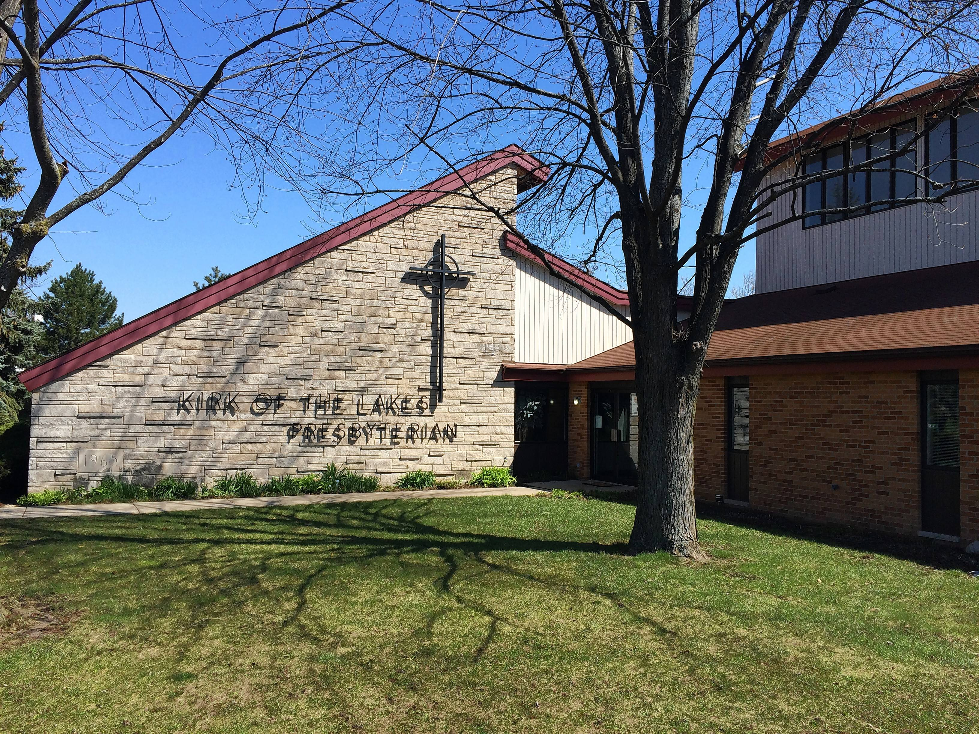 Kirk of the Lakes Presbyterian Church in Mundelein is being purchased by neighboring Mundelein High School and will close. School officials plan to use the church's gym for athletic practices and may use some of the site for parking.