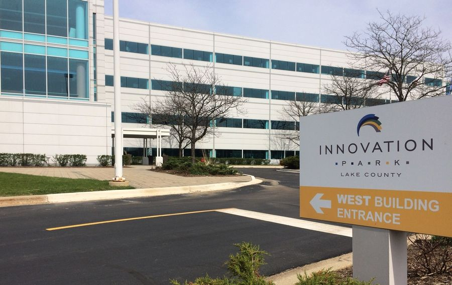 Innovation Park Lake County is being developed at the former Motorola Mobility campus on Route 45 in Libertyville.