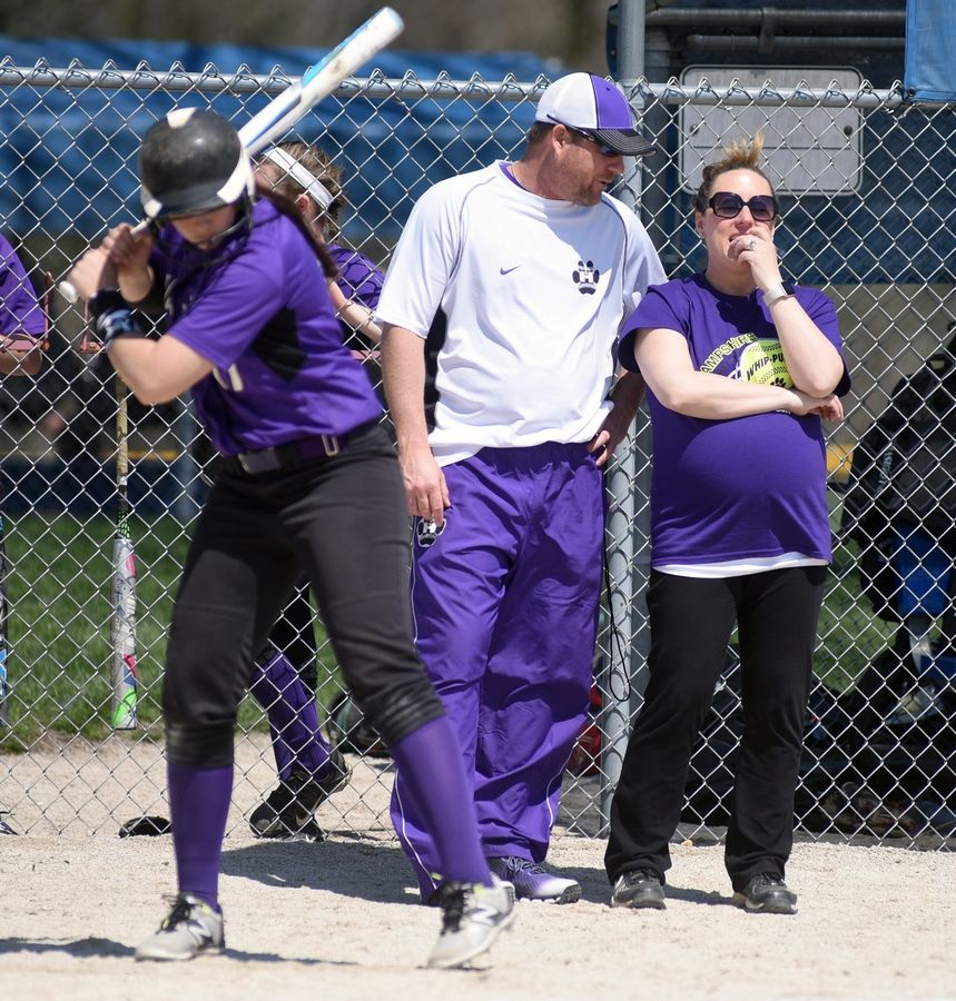 d2569e4ff3631 Softball  Allen happy to be back in high school game at Hampshire