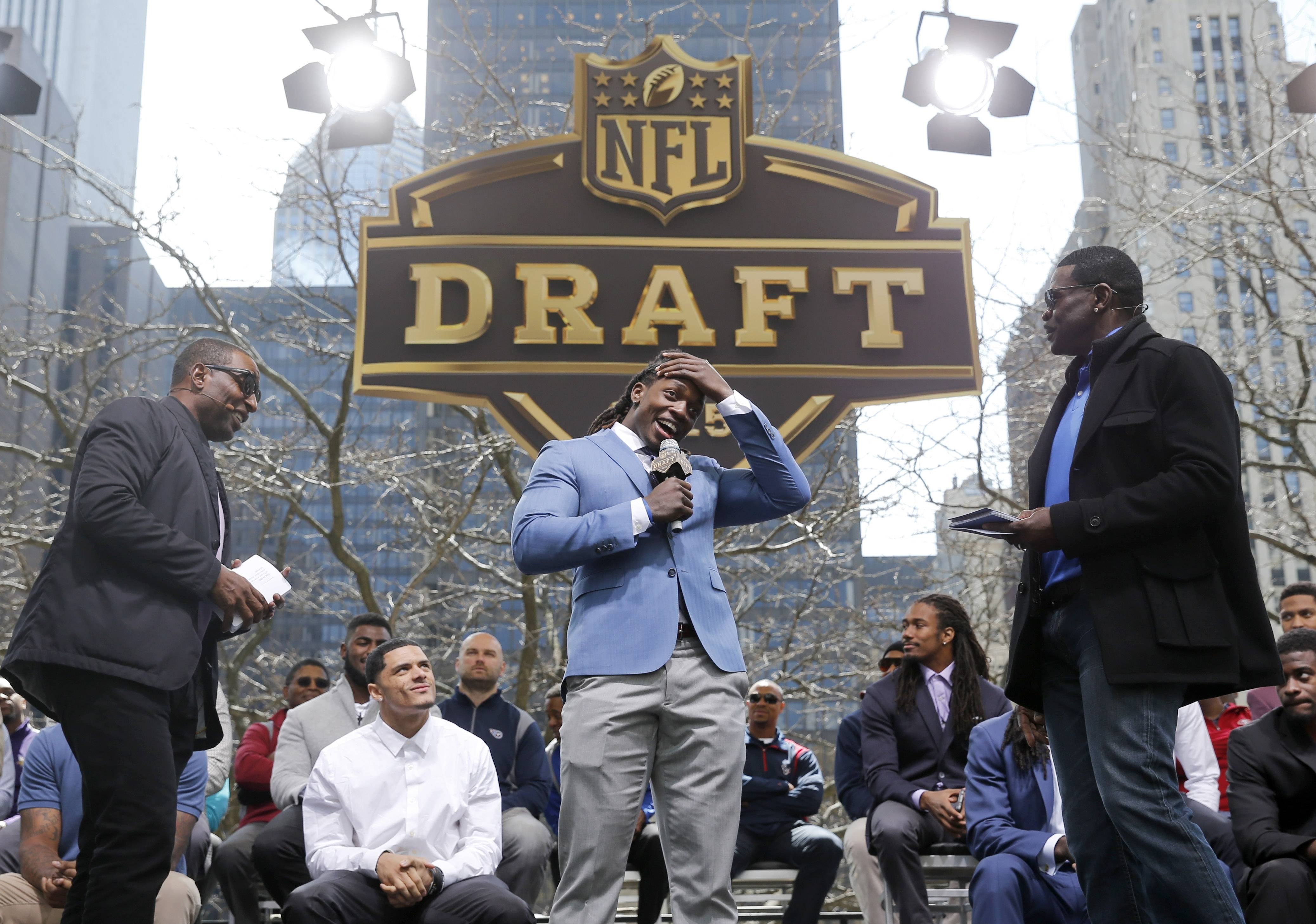 Football. Draft Town. Fun. It must be 2016 NFL Draft in Chicago