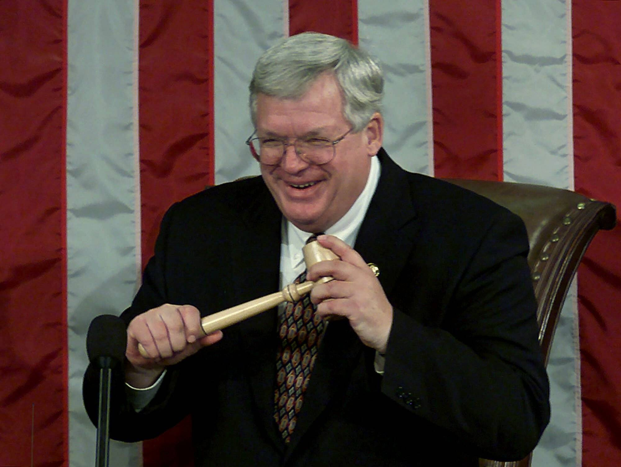 Patriot Act that Hastert heralded helped bring his downfall