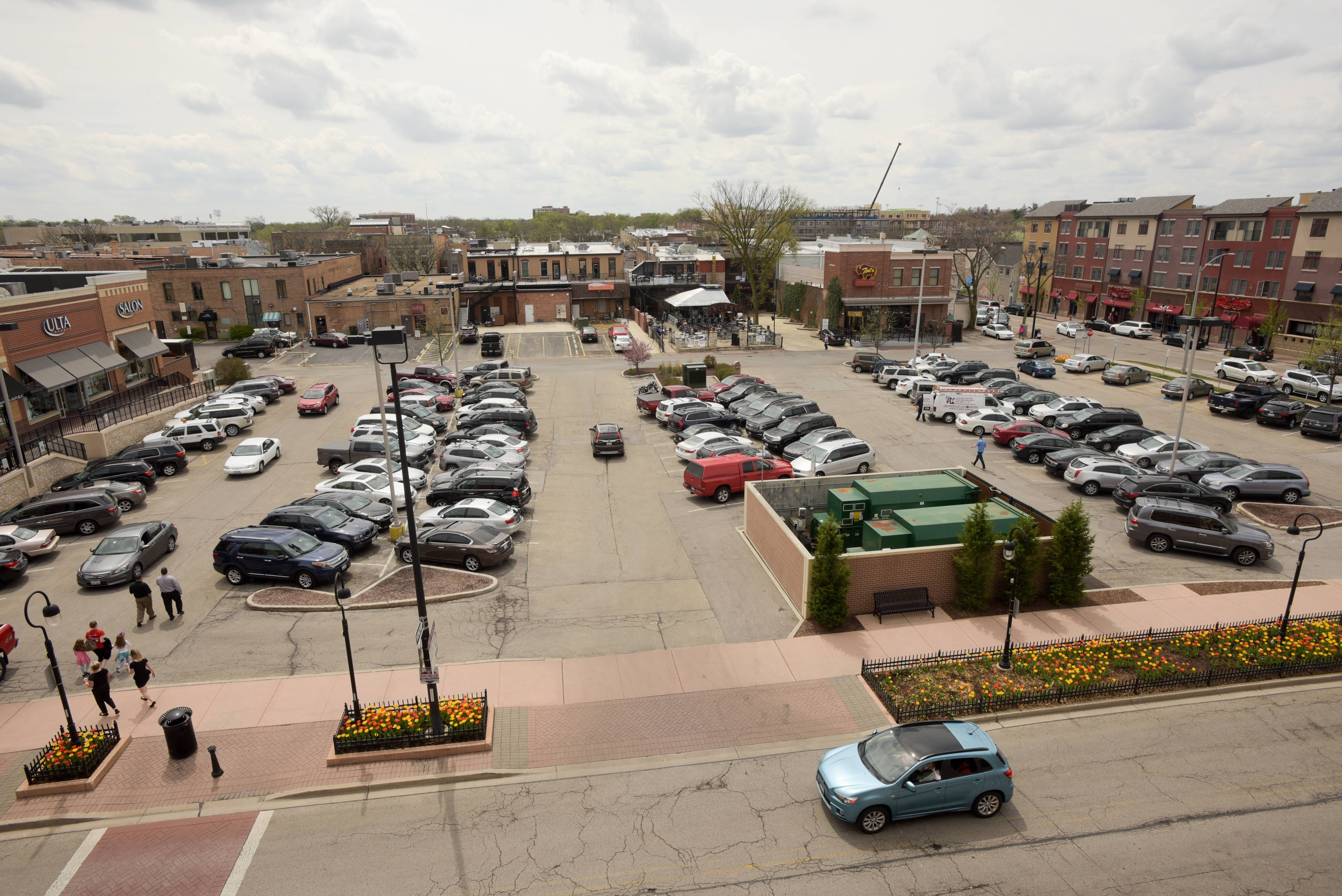 How Naperville plans to improve downtown parking