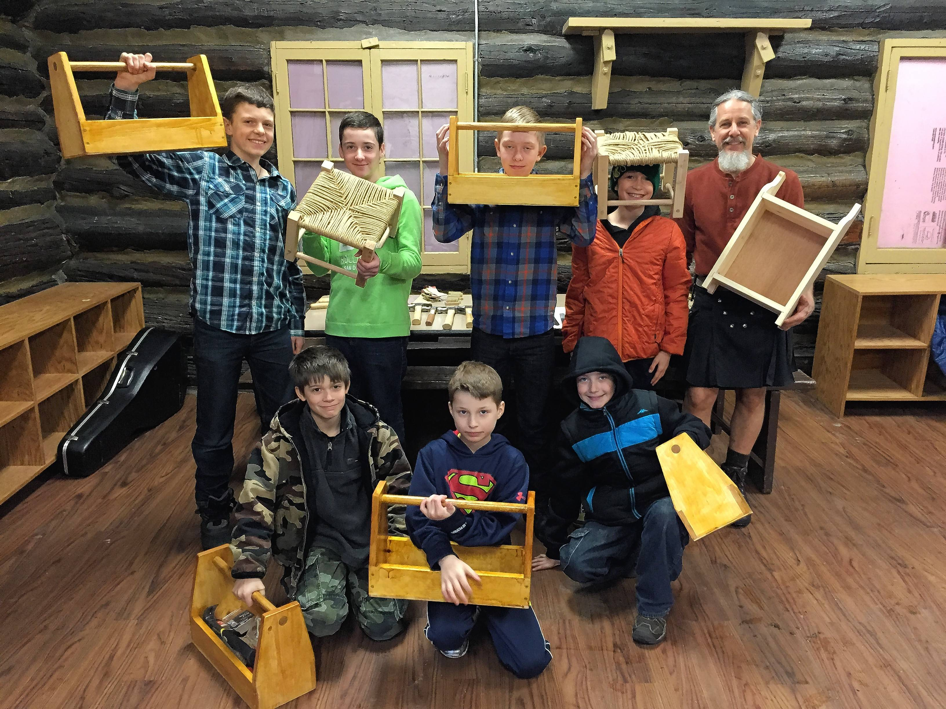 "The Riverside Center for Education offers ""maker"" programs teaching boys craftsmanship and artistry while encouraging them explore new interests."