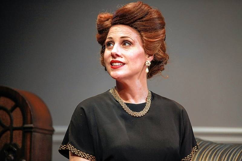 """Lombard's Johanna McKenzie Miller juggles three roles and three storylines in Stage 773's """"A Splintered Soul,"""" which chronicles the struggles of Jewish immigrants following World War II."""