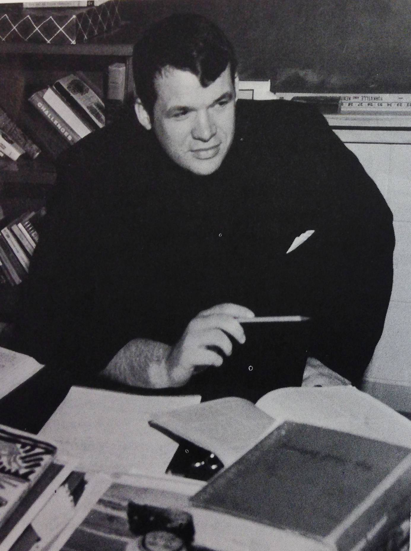 Dennis Hastert is pictured in the teacher-profile section of the 1969 Yorkville High School yearbook. He has lost his state pension from the time he was a teacher.