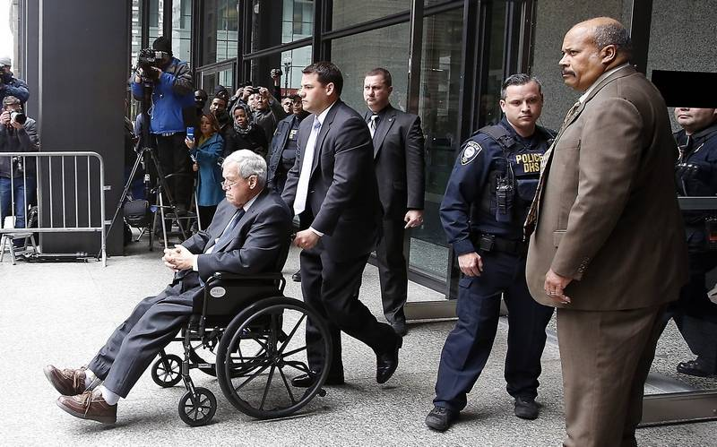 Former House speaker Dennis Hastert just reported to jail. Here's how he  got there. - The Washington Post