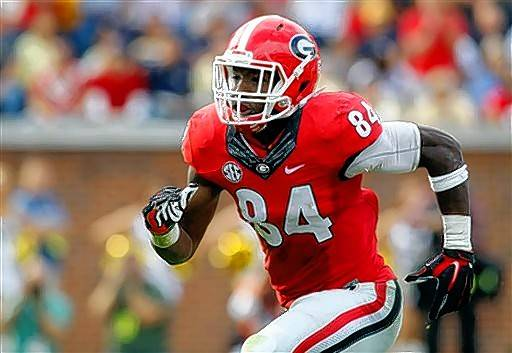With the ninth overall draft pick in Thursday night's first round, the Bears selected Georgia linebacker Leonard Floyd, who possesses the pass-rush skills that could translate to double-digit sacks in the NFL. The Bears traded a 4th-round pick, and 11th overall, to TB to move up to No. 9.