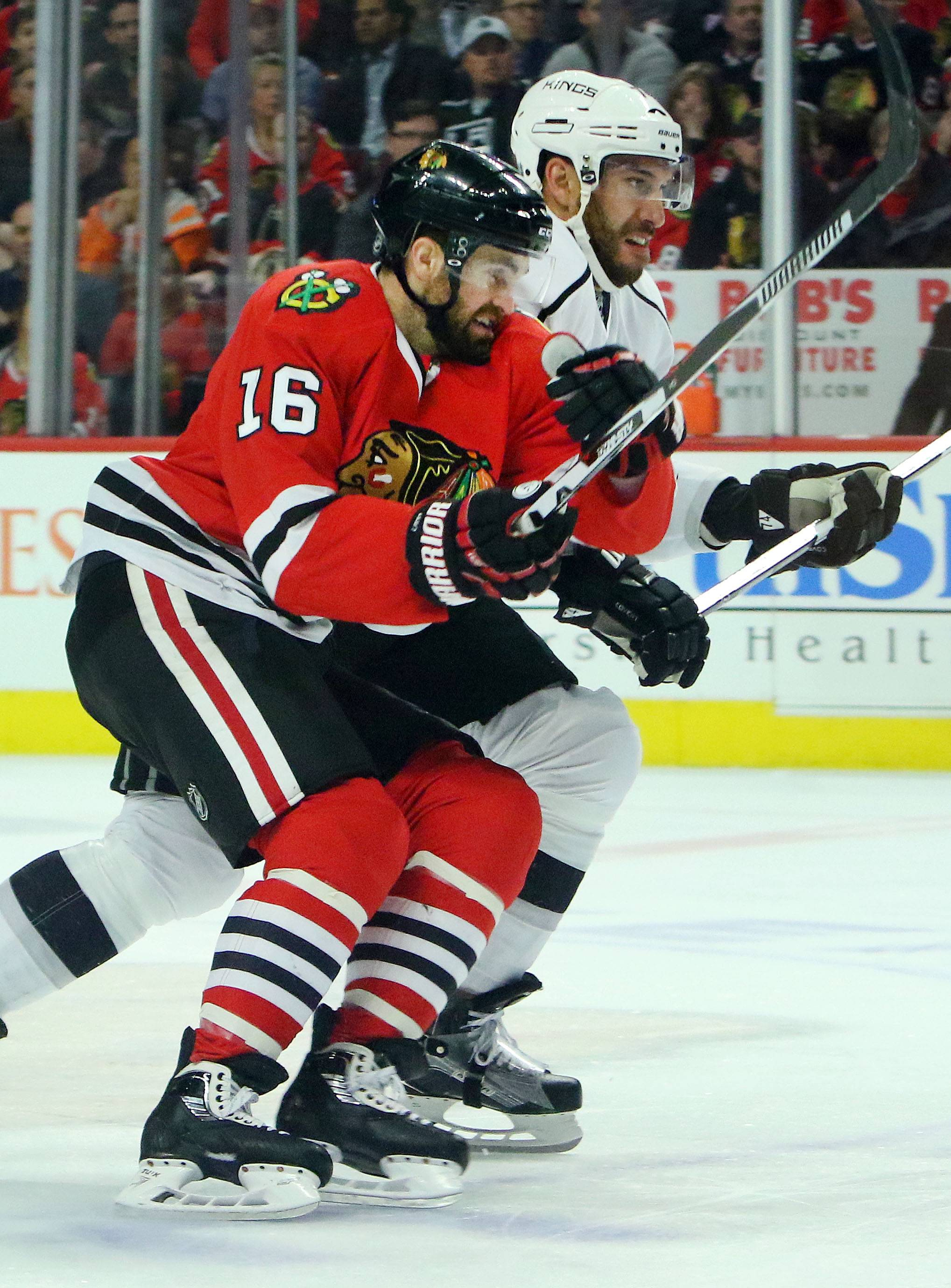 Chicago Blackhawks left wing Andrew Ladd is unlikely to return next season, but he's not ruling out the possibility.