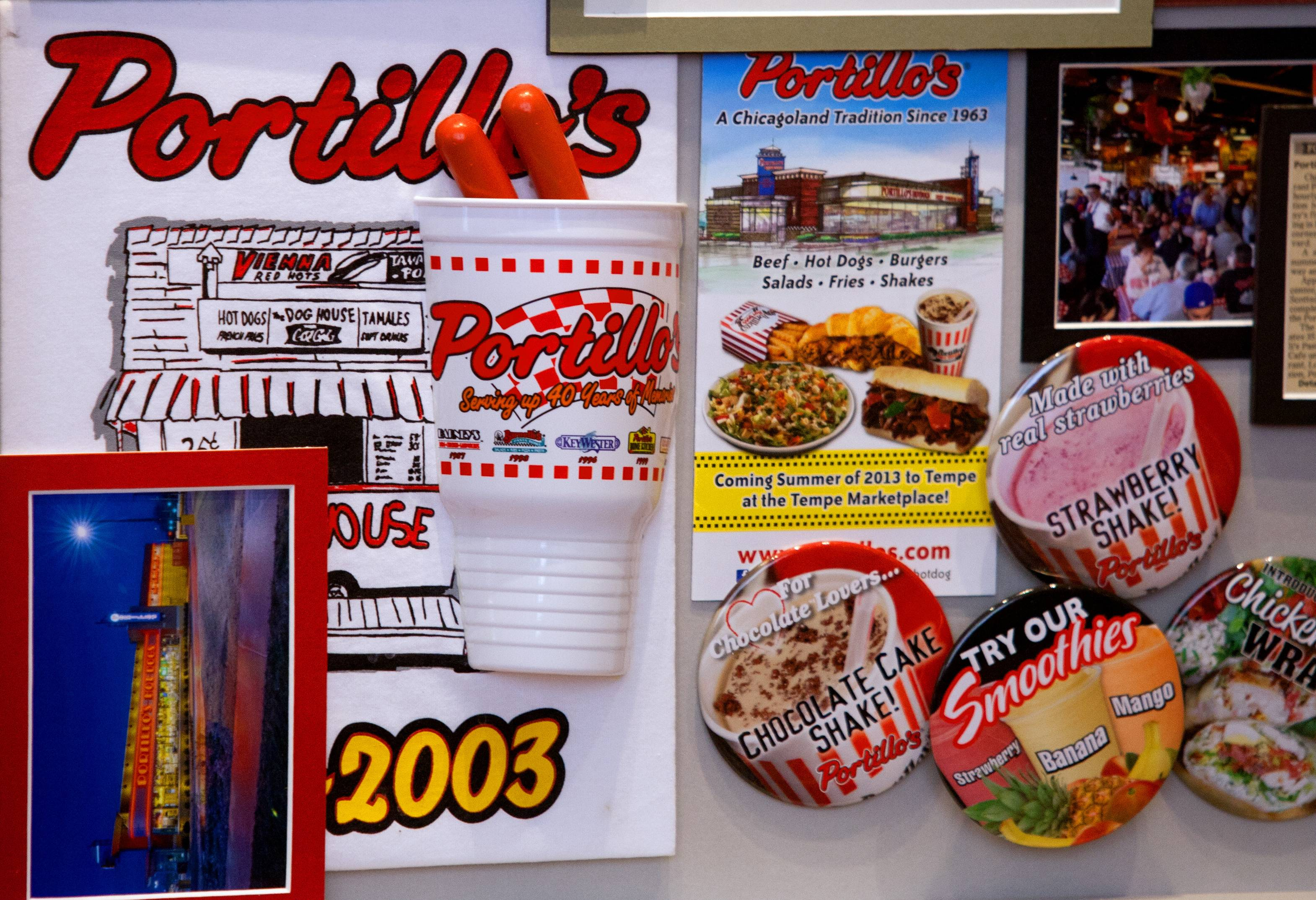 Portillo's plans to open in Normal